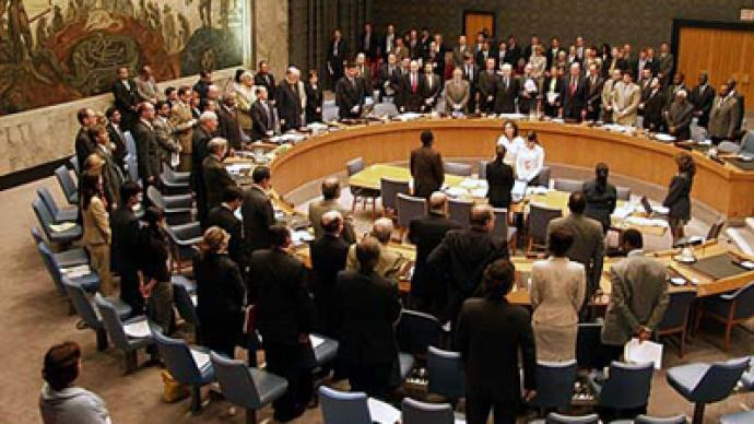 UN Security Council observes minute of silence for Moscow blast dead