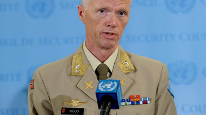 'UN observers to stay in Syria despite mission suspension' – Chief monitor