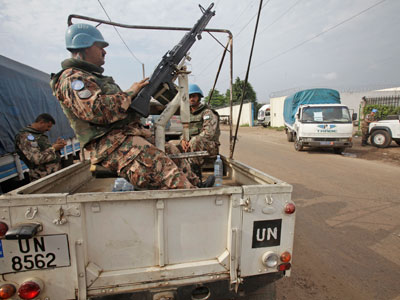 Seven UN peacekeepers killed in Ivory Coast