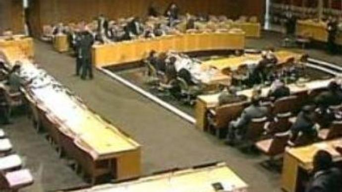 UN Security Counci debates war in Somalia