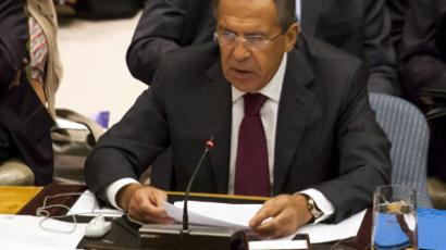 Rebel support 'pushes Syria deeper into the abyss of bloody sectarianism' – Lavrov