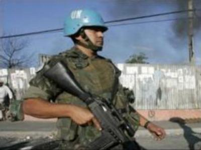 UN troops enter Haiti's slum