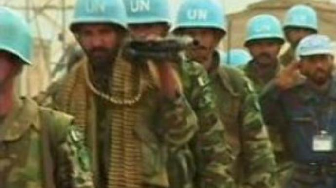UN troops to enter Darfur