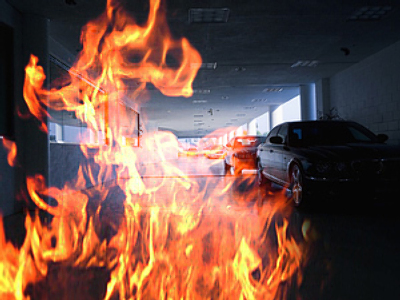 Underground garage fire in southeast Moscow leaves seven dead