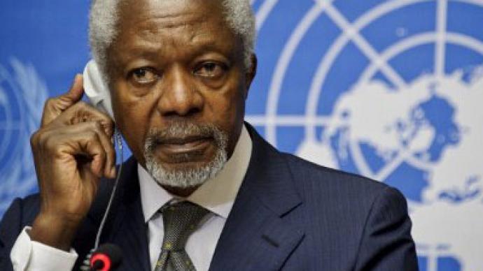 Lavrov: Annan's Syria plan still in progress
