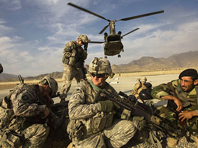 'US military – source of instability in Afghanistan and region'
