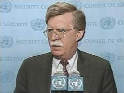 US Ambassador to the UN John Bolton could lose his post