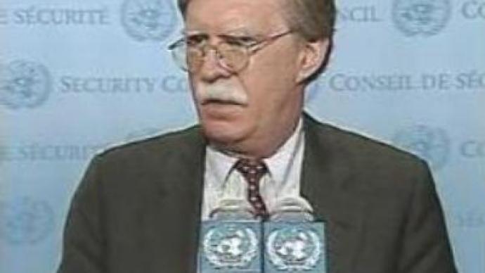 US Ambassador to the UN John Bolton could lose his post