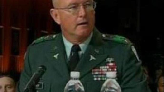 U.S. Army official resigns over hospital scandal