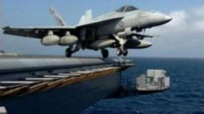 U.S. begins naval maneuvers in the Gulf