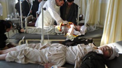 Another blast hits Afghanistan, brings total death toll to at least 46