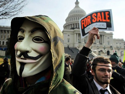 'Corruption is legal in Washington' – insider tips