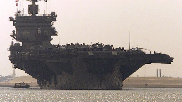 American Enterprise in Gulf: Second aircraft carrier deployed