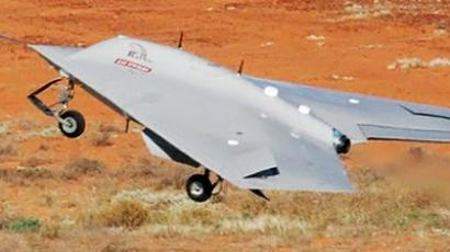 Israeli superdrone crashes and explodes (VIDEO)