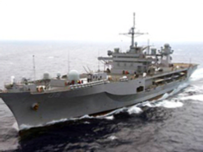 U.S. flagship enters Black Sea