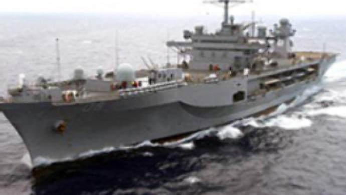 U.S. flagship enters Black Sea