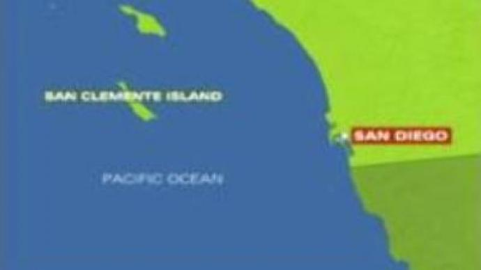 U.S. navy helicopter crashes in Pacific Ocean