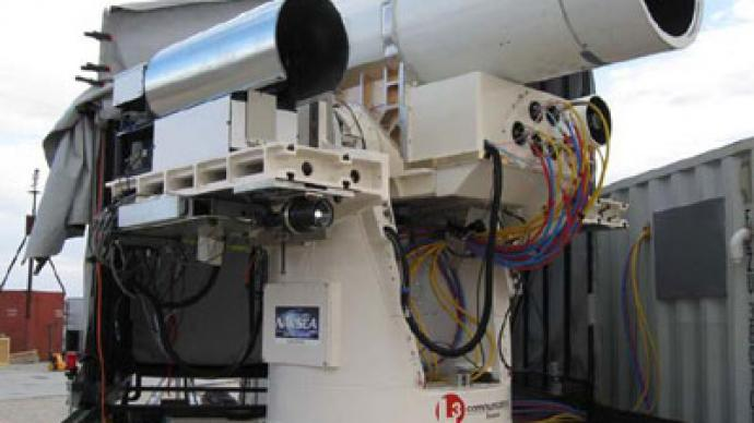 'Star Wars' at sea: US Navy could deploy laser weapon in two years
