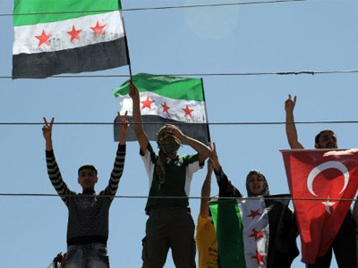 Turkey's top treatment for Syrian rebels, eyeing homecoming (PHOTOS)