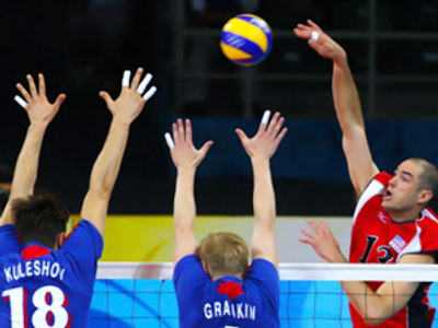 US volleyball semifinal dreams denied by Russia