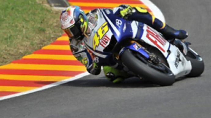 Broken shin puts season in doubt for Rossi