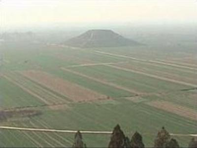 Valley of ancient pyramids discovered in China