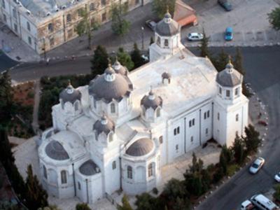 Vandals deface Russian sacred place in Jerusalem