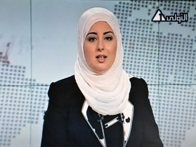 First veiled female newscaster appears on Egyptian TV