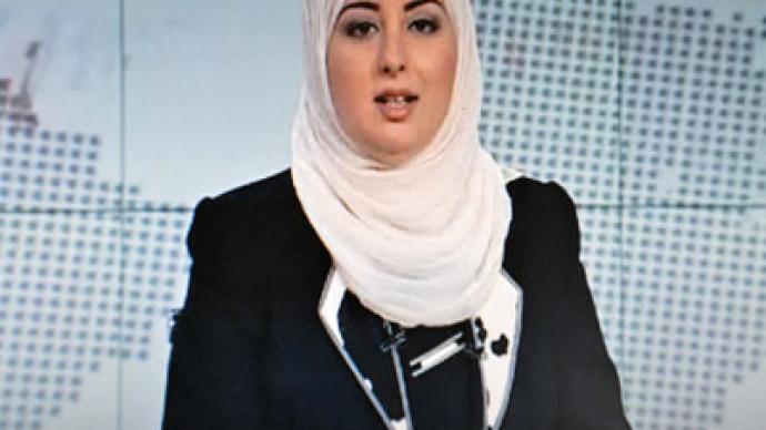 First veiled female newscaster appears on Egyptian TV