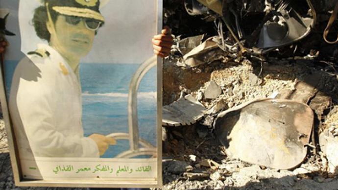Vengeance of the West on Gaddafi