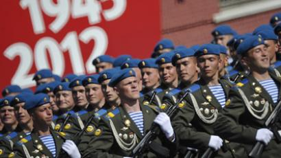 V-day parade: Remembering Russia's heroes