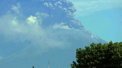 'Throat of Fire': One of Latin America's most active volcanos erupts, spews ash and molten rock