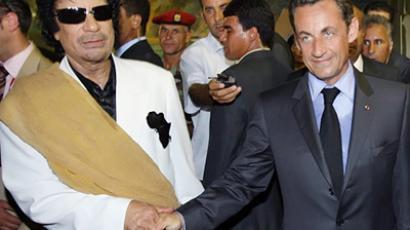 Ex-Congressman in Libya for talks with Gaddafi