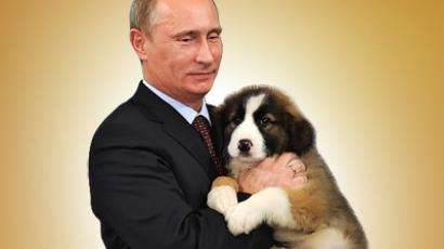Five-year-old boy chooses name for Putin's pet