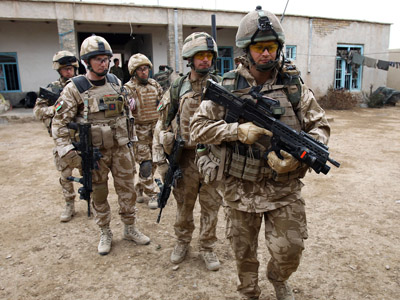 'Politicians keep British soldiers in Afghanistan as human shields for their reputations' – MP