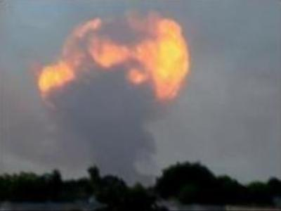 Weapons depot explosion in Mozambique kills nine