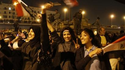 Egypt in transition: military cancels constitution, dissolves parliament