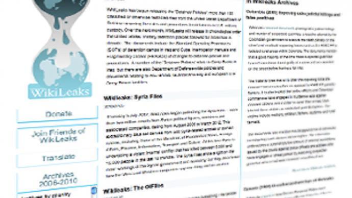 Released: WikiLeaks cash blockade 'ordered' by American 'hard-right'