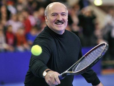 Two women beat Belarusian president... on tennis court