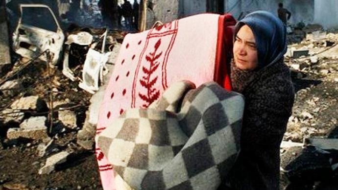 Women become breadwinners in post-war Gaza