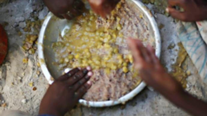 World Food Program running out of food
