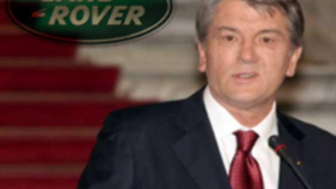 4 x 4 'bribe' allegations over Yushchenko arms scandal