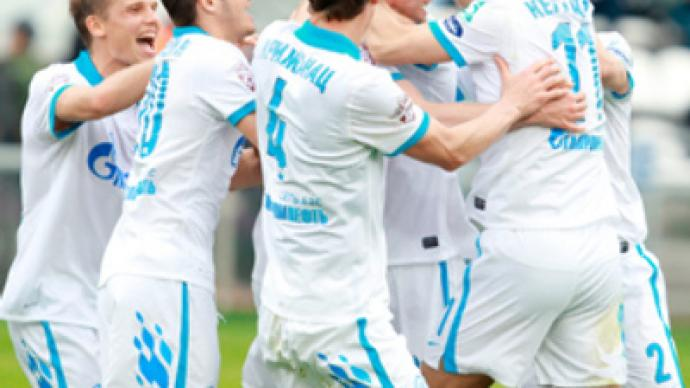 Zenit catches up with Russia's Premier League leaders