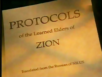 Russian academicians demand ban of Protocols of the Elders of Zion