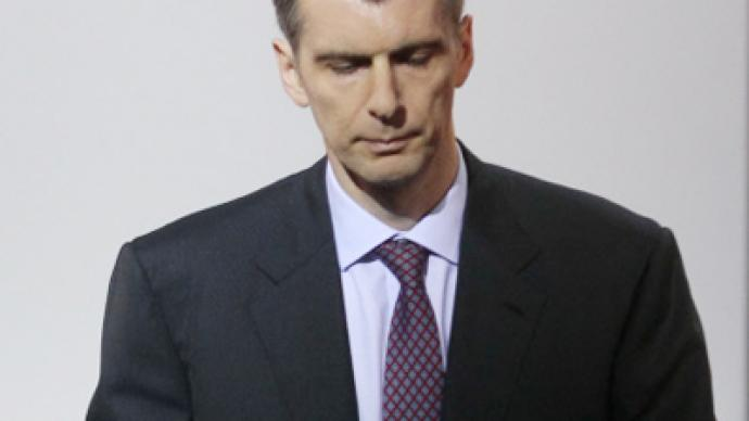 Lost in accounting: Right Cause and Mikhail Prokhorov