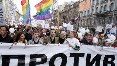 Russian HR watchdog to check ban on 'gay propaganda'