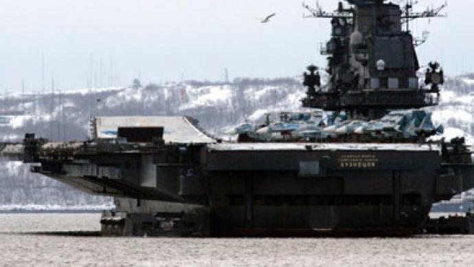 Russian Navy to be decked out with flattops