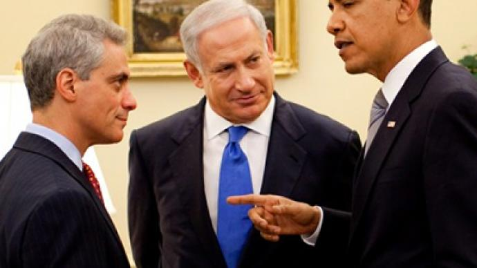 "America ""goes mad"" over Israel"