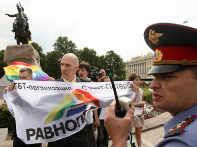 Russia's anti-gay drive takes global turn
