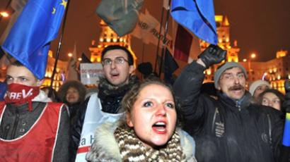 Thousands protest presidential election results in Belarus